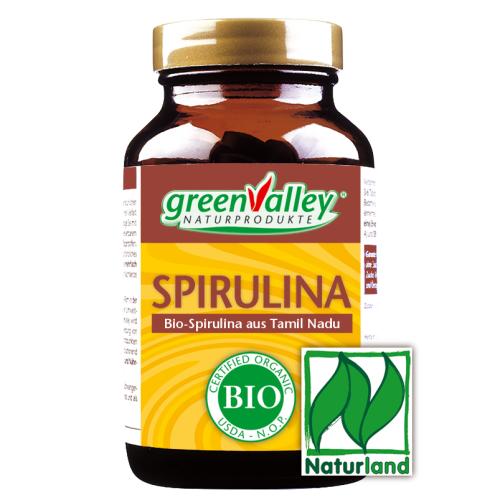 greenValley® Bio Spirulina aus Tamil Nadu Tabletten 125 St. (400mg)