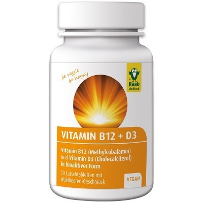 Vitamin B12 & D3 Vegan