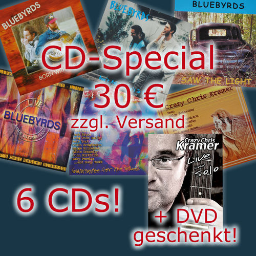 CD-Special: 6 CDs + DVD Live & Solo