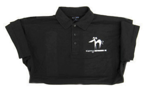 Polo Shirt - Black -  Large