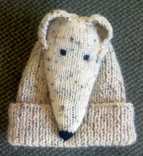 Greyhound Bobble Hat - Hand Knitted - Moorland - Kerry ...