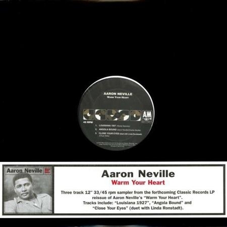 Neville, Aaron - Warm your heart (45 rpm / 33 rpm)