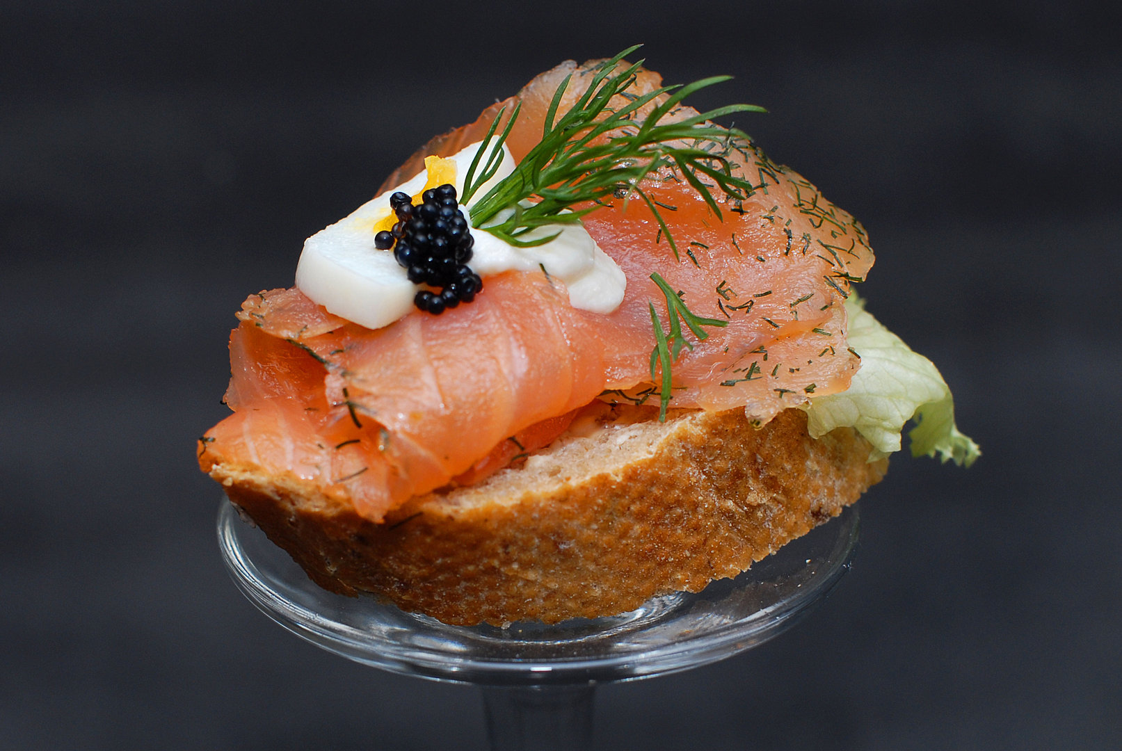 Graved lachs canap ternieten catering und for Canape 9 0 download