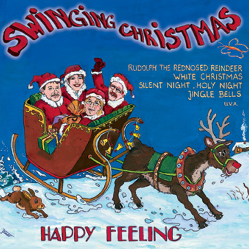 Happy Feeling: Swinging Christmas (CD)