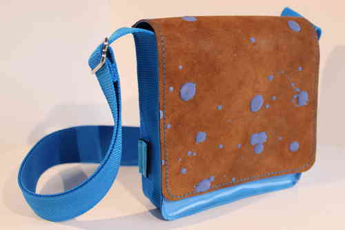 Nina Inky dots blue/brown
