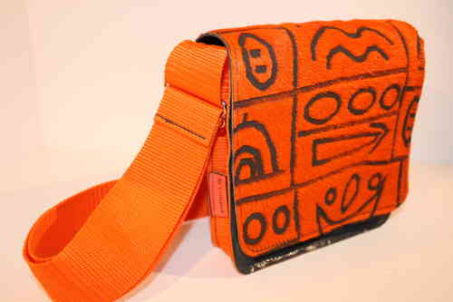 Nina Hieroglyph orange