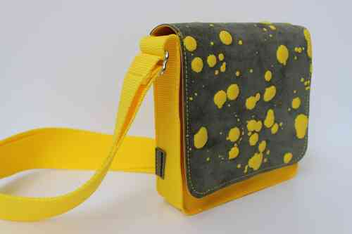Nina Inky dots yellow/grey