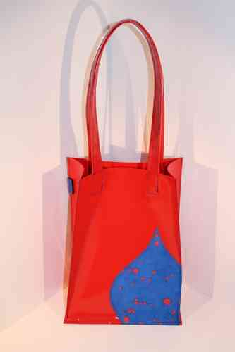 Antonella Inky dots red/blue