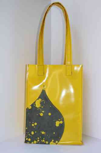Antonella Inky dots yellow/grey