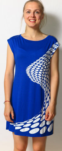 Zap Tunika Wave blau