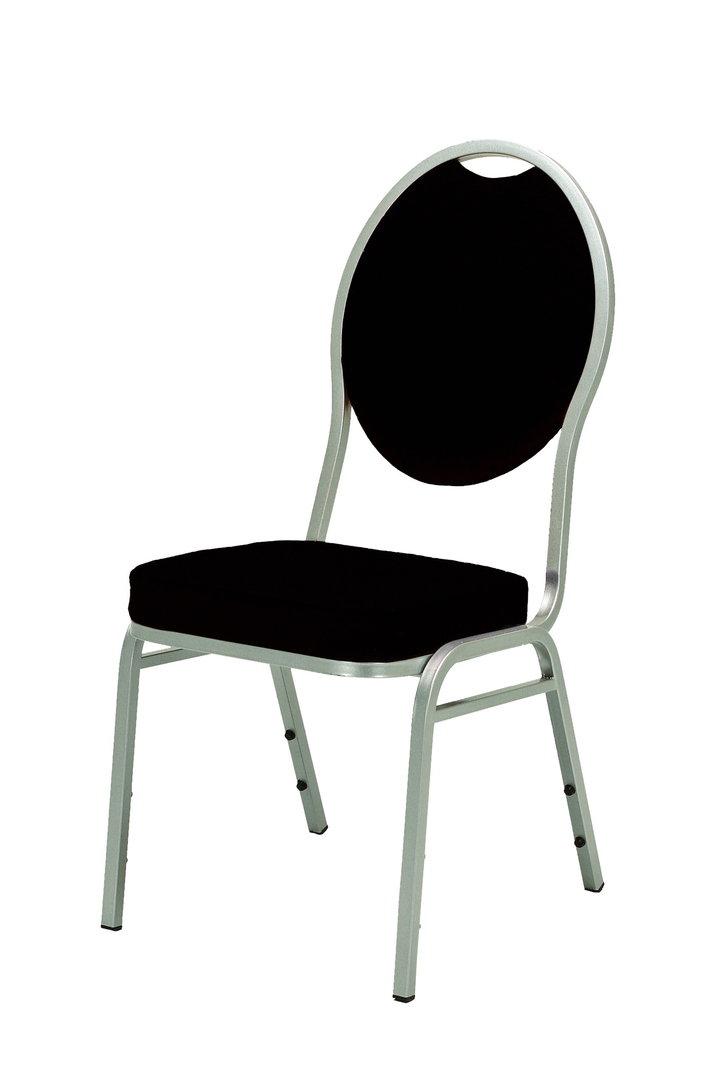 polsterstuhl diamond schwarz messe mietmoebel. Black Bedroom Furniture Sets. Home Design Ideas