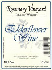 Elderflower Wine 75cl (10% Vol) - AWARD WINNER