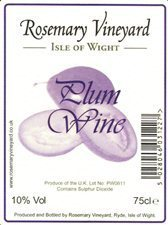 Plum Wine 75cl