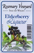 Elderberry Liqueur 37.5cl (17% Vol) - AWARD WINNER