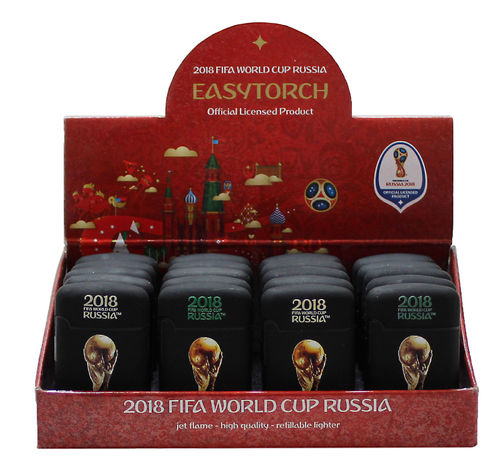 "Easy Torch 8 Rubber ""Fifa Worldcup Russia"" Trophy Relief"