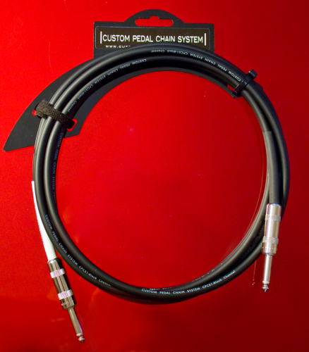 CABLE INSTRUMENT BLACK CHANNEL C/C 7m